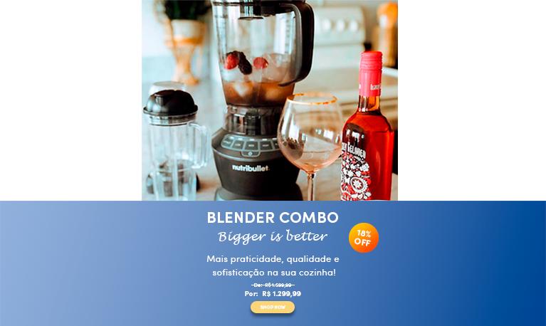 Lançamento Blender Combo mobile