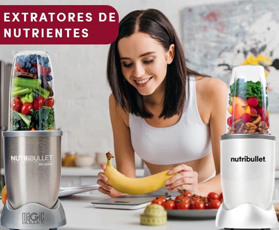 NUTRIBULLET EXTRATORES DE NUTRIENTES 600W e 900W
